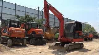Korean used excavator Leaders 006 Daewoo S55V Gold - Autowini.com