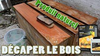 Enlever/Décaper le vernis du bois facilement et rapidement