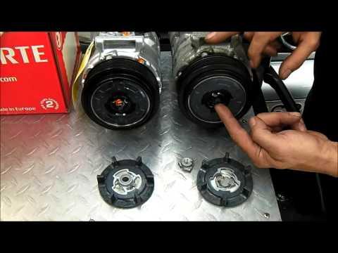 Compresor De Aire Acondicionado Mercedes: Avería Común De Embrague thumbnail