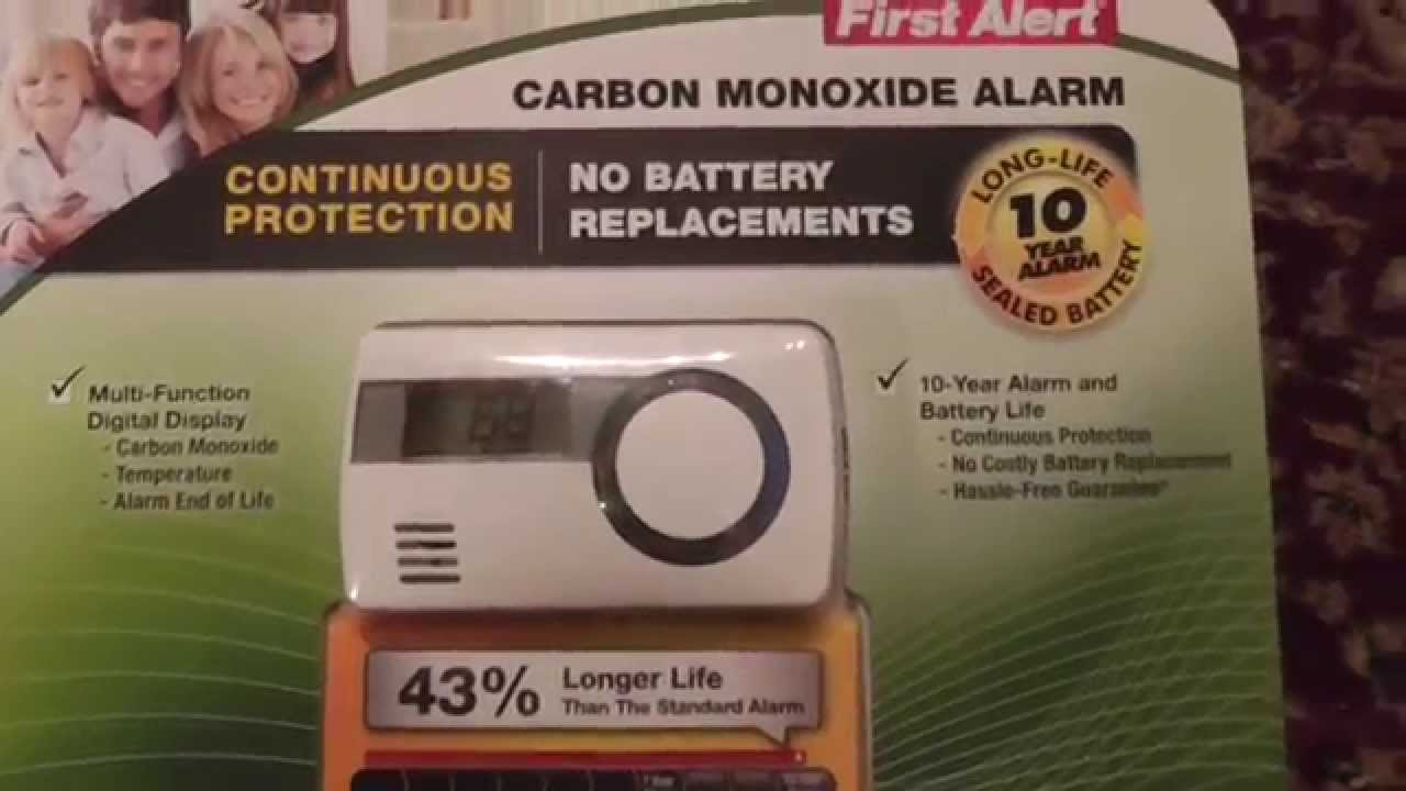 first alert carbon monoxide alarm costco co1210 unboxing review youtube. Black Bedroom Furniture Sets. Home Design Ideas