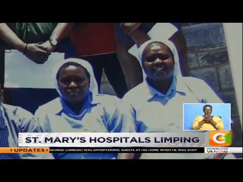 St  Mary's hospitals limping