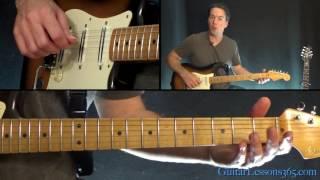 Last Kiss Guitar Lesson - Pearl Jam
