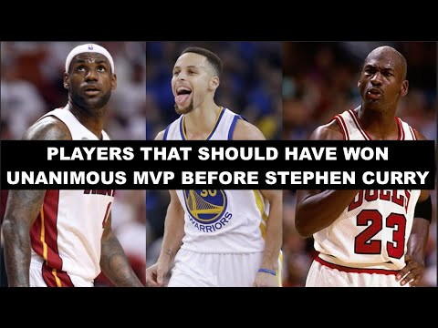 12 Times The NBA MVP Winner Should Have Been Unanimous Before Stephen Curry