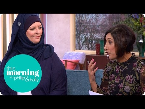 Should Veils Be Banned In Public Buildings? | This Morning