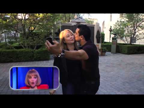 Mario Lopez Stops a Tour Cart on #RepeatAfterMe