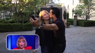Mario Lopez Stops a Tour Cart on #RepeatAfterMe