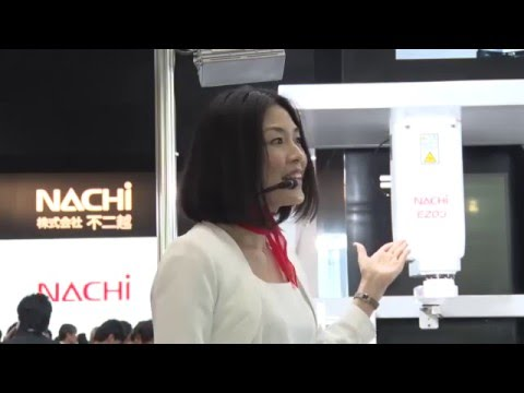 Introduction to NACHI ROBOTICS at iREX, International Robot Exhibition 2015