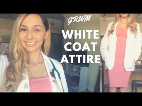 GRWM - White Coat Attire   America Revere