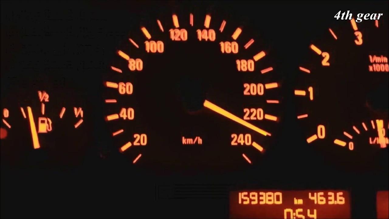 2003 BMW 325i E46 192 Hp automatic 0230 kmh acceleration