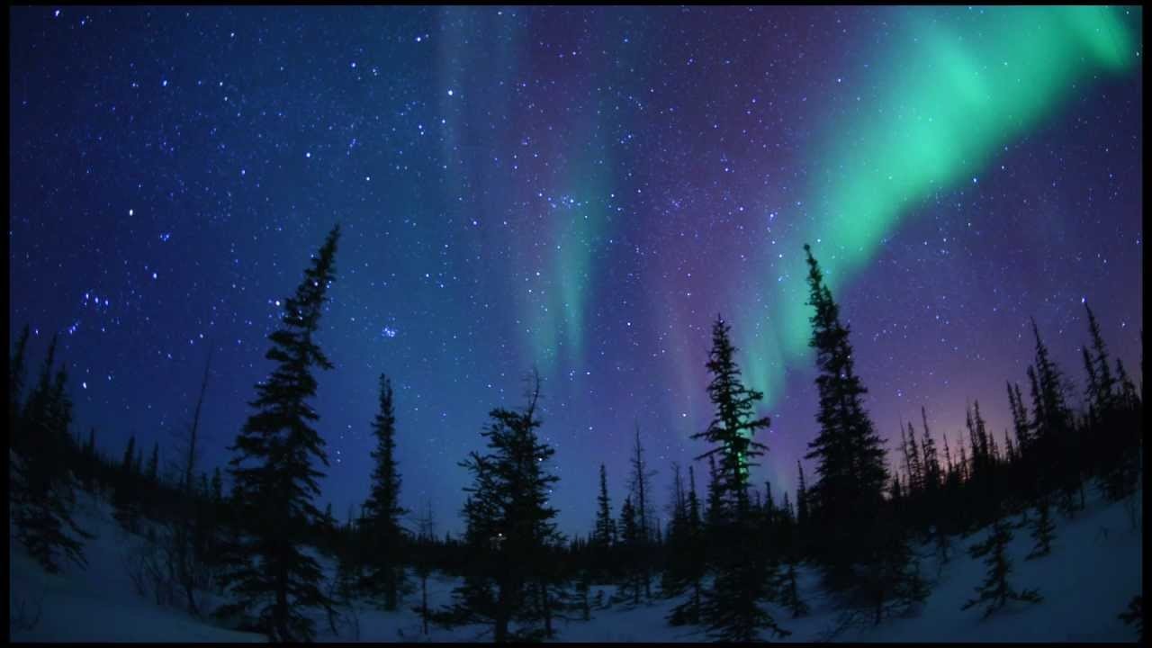 Starscape And Northern Lights Time Lapse From Churchill