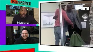 Jimmy Butler Meets & Embraces Sixers GM! | TMZ Sports