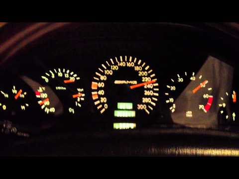 MB 1997 Silver MB W140 ///AMG S600L 6.0 89000Km! - Speed From 100 To 260 KM/H