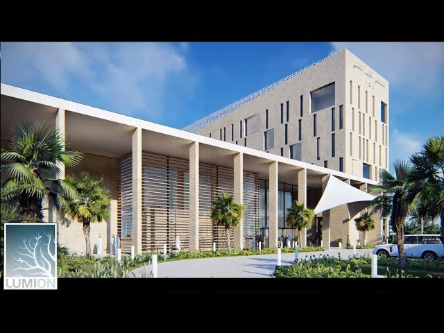 Al-Wakra Psychiatric Hospital in Qatar 2015 | sketchup model and lumion.