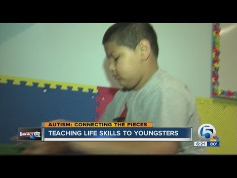 Teaching life skills to autistic students