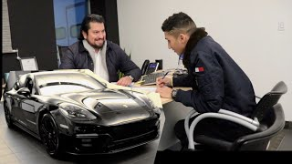HIGH SCHOOL STUDENT BUYS 2020 PORSCHE ** BRAND NEW**