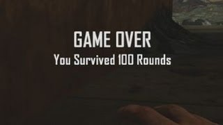 """Die Rise Round 100 Solo - Glitch OR The Ultimate """"SLIQUIFIER"""" Strategy? Black Ops 2 Zombies"""