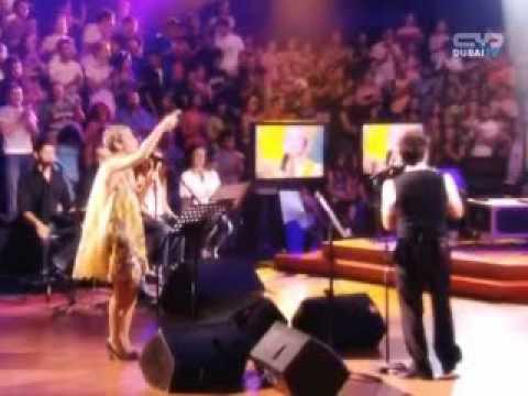 Salma Ghazali & Bashar Ghazawi, Dubai TV 2008 سلمى الغزالي