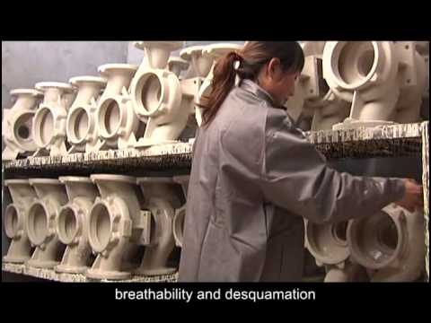 The Lost Foam Casting Process Flowof Ruiou company
