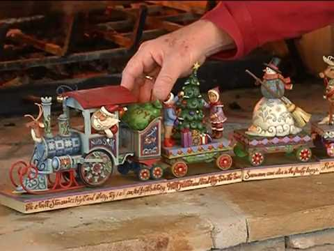 Jim shore christmas train youtube