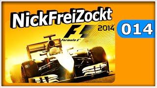 F1 2014 Karriere #014 - Monaco Rage Qualifying - Let
