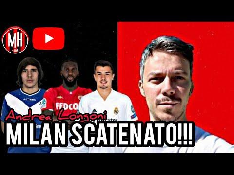 MILAN SCATENATO!!! - Andrea Longoni - Milan Hello #acmilan #calciomercato #tonali #diaz #bakayoko