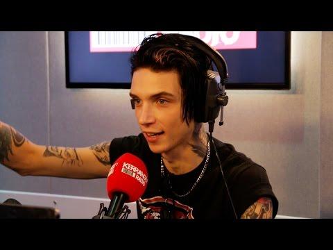 Andy Black talks to Kerrang! Radio Pt1