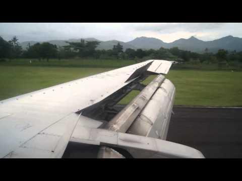 Merpati Air Landing at Lombok Mataram