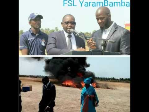 Gambia: Drug Worth D8M Burnt By The Minister Of Interior