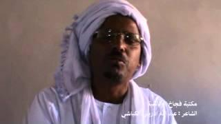 الشاعر عبد الله ود ادريس الكباشي غزل