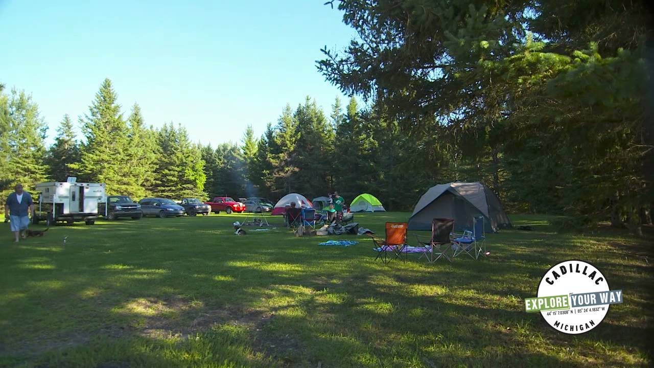 Chippewa Landing Canoeing, Camping Manistee River