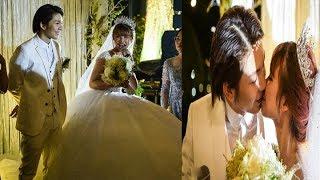 Kelvin Khánh Hôn Khởi My nồng nàn trong lễ cưới [Tin mới Người Nổi Tiếng]