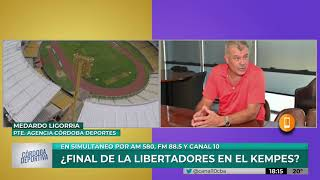 El Kempes muy cerca de ser sede de la final de la Copa Libertadores 2020