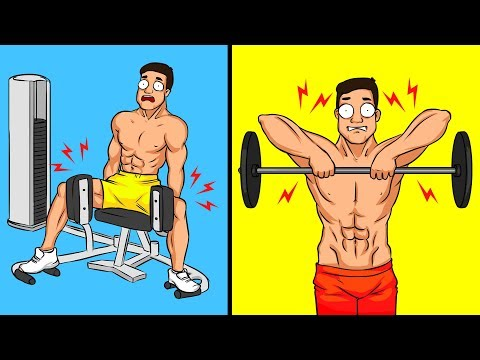 5 Exercises It's Better to Avoid If You Train Alone