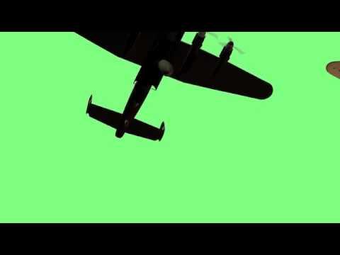 كروما مونتاج قصف طائره