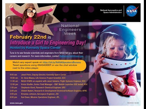 Introduce a Girl to Engineering Day - Live from the VAB