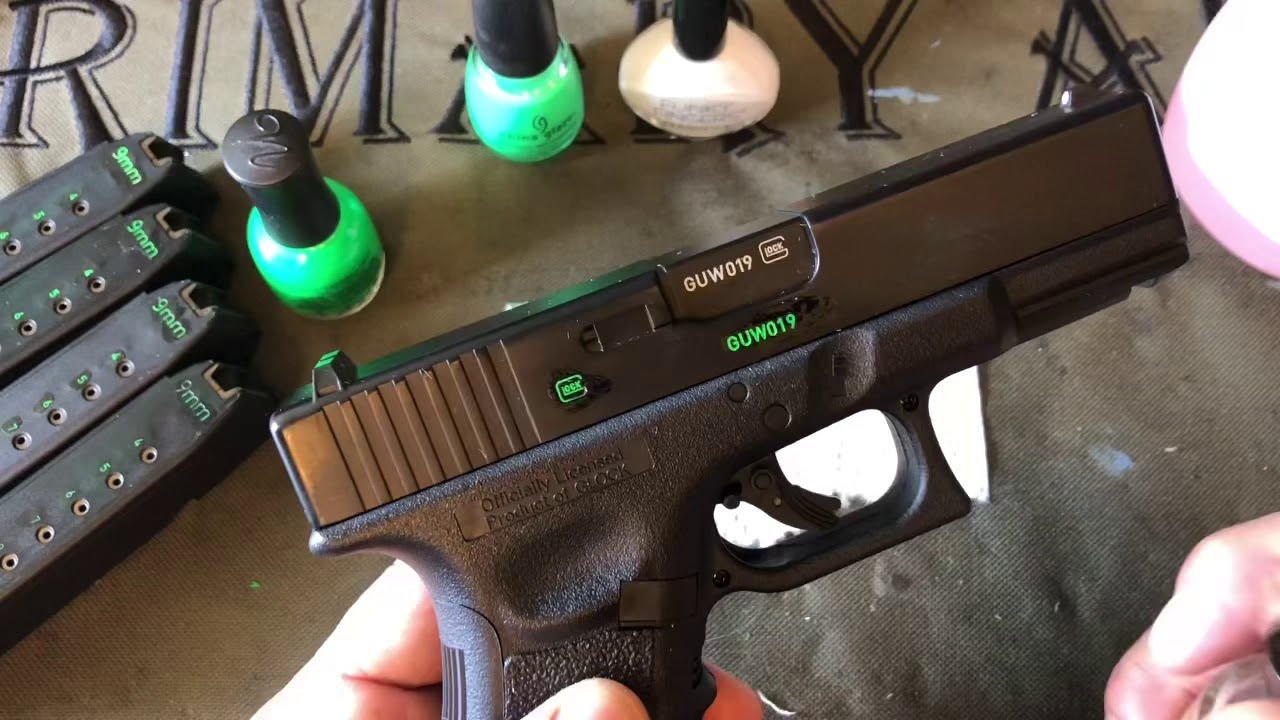 Diy Color Fill The Engravings On Your Firearm Youtube