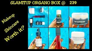 Glamitup Organo Box @239| Handmade Skincare | Makeup | Personalized
