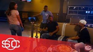 Red Sox's Mookie Betts, Jackie Bradley Jr. and Xander Bogaerts go bowling   SportsCenter   ESPN