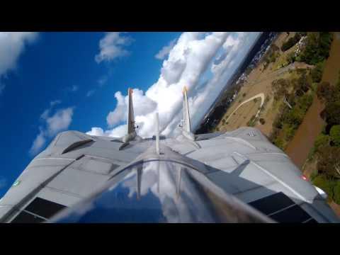 Pilot Dan Flying His Freewing F-14 Tomcat