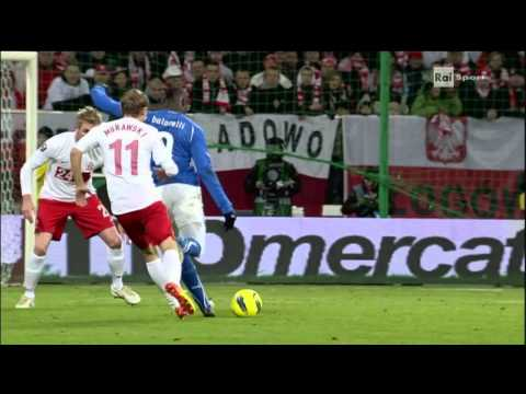 Mario Balotelli's amazing first goal for Italy