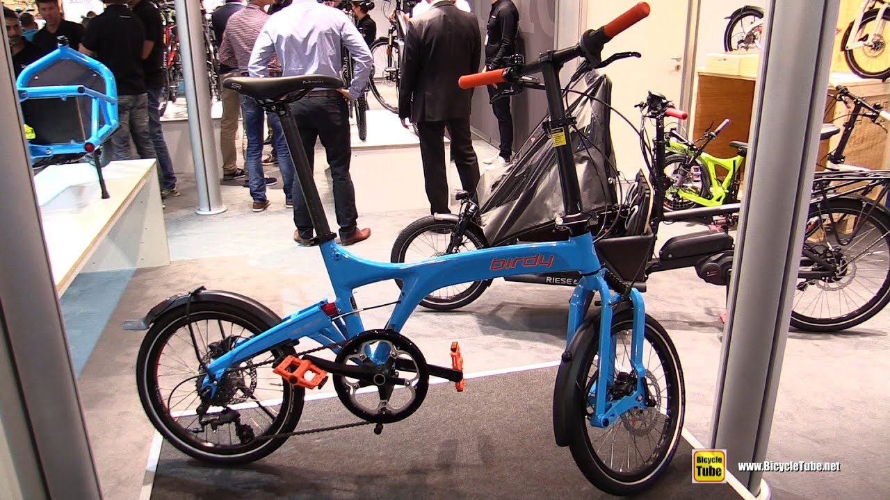 2016 Birdy Speed Foldable Bike Walkaround 2015