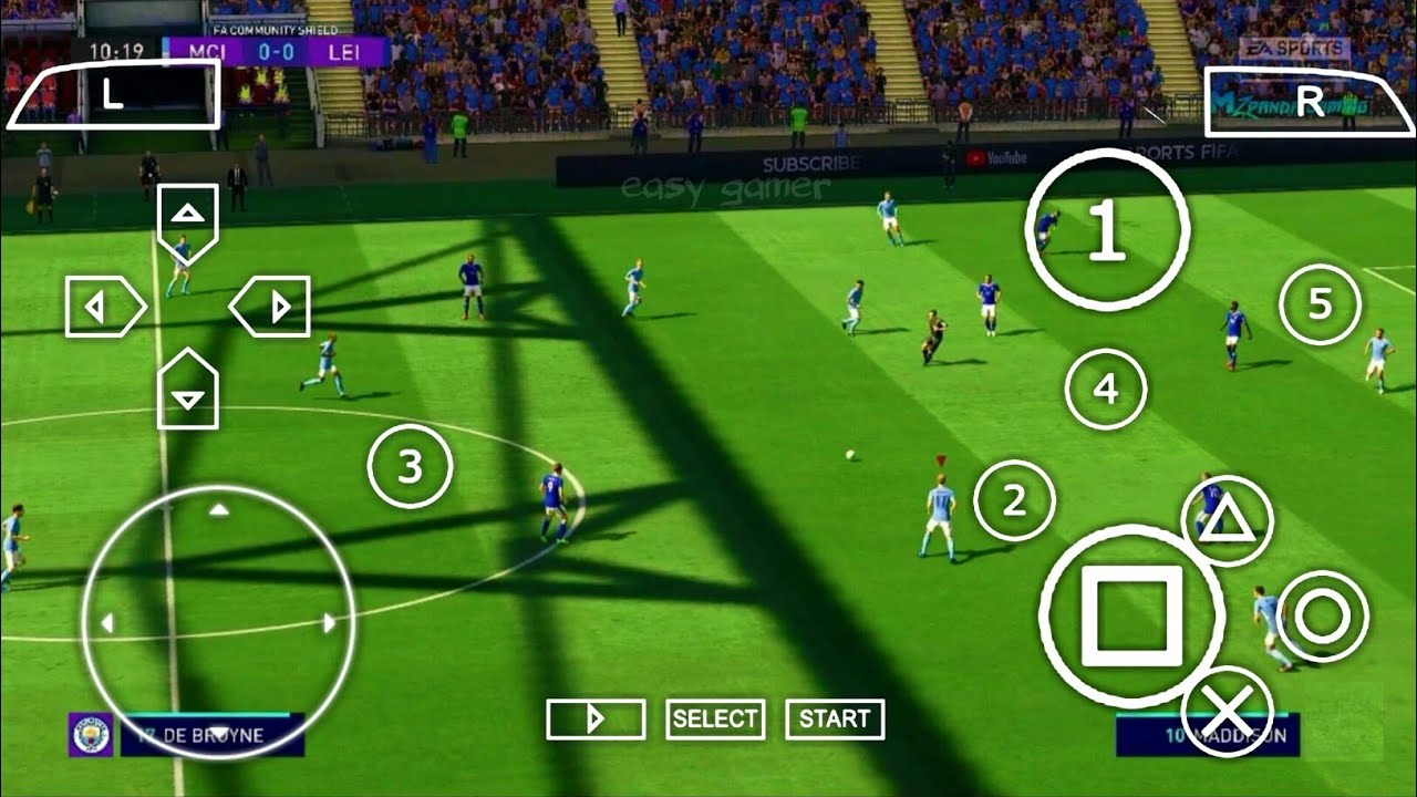 Download DOWNLOAD FIFA 22 PPSSPP ORIGINAL PS5 Mobile Play On Android & IOS Best Graphics Offline