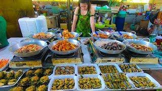 Độc đáo nhất Sài Gòn chợ hải sản tươi sống và chế biến sẵn Hàng Dương Cần Giờ cực ngon và rẻ