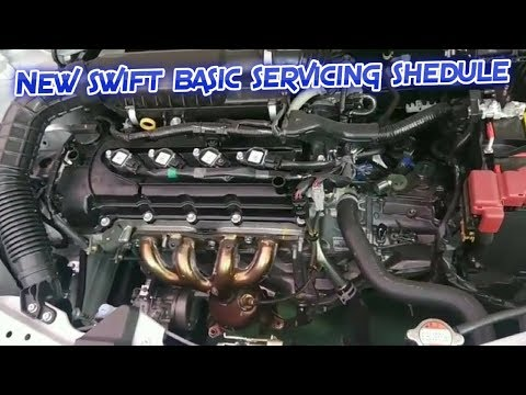 Maruti suzuki Swift 2018 Basic servicing Details