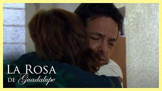 La Rosa de Guadalupe: La familia de Lidia y Azalea terminan en la calle   Un lugar llamado hogar
