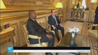 الرئيس الفرنسي يزور جمهورية أفريقيا الوسطى