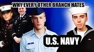 WHY DOES EVERY MILITARY BRANCH HATE THE NAVY?!