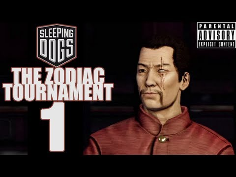 Beef Plays Sleeping Dogs - Zodiac Tournament - EP1 - Involuntary Beefing