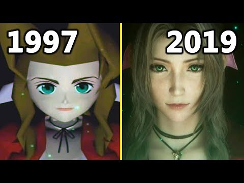 Final Fantasy VII Remake Graphics Comparison (Original Game vs 2019 E3 Trailer)