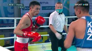 Бокс. ЧРК. Финал. Мужчины (52 кг). Сакен Бибосынов - Махмуд Сабырхан
